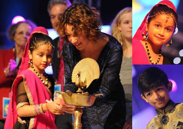 Diwali 2015 WH van Veeningen and son Prashant jpg